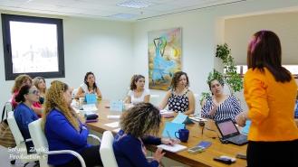 صورة من أحد لقاءات دورة كاكتوس الرابعة لريادة الأعمال
