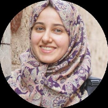 ديمة عوني أبو أسد | منتجة فيديوهات الخريجات وكاتبة بموقع شركة كاكتوس | غزة، فلسطين